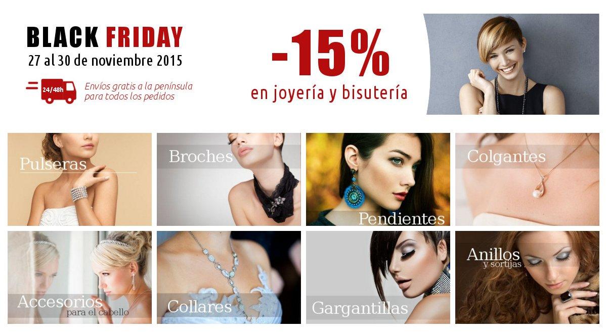 Black Friday 2015 Joyería